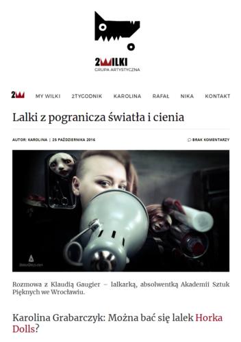 2016-10-25 / 2wilki.pl