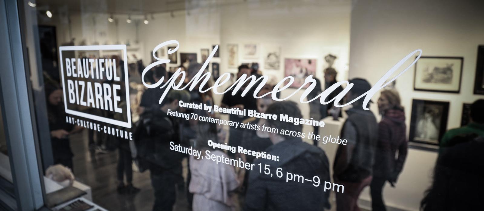 EPHEMERAL / group exhibition / Modern Eden Gallery, San Francisco, USA
